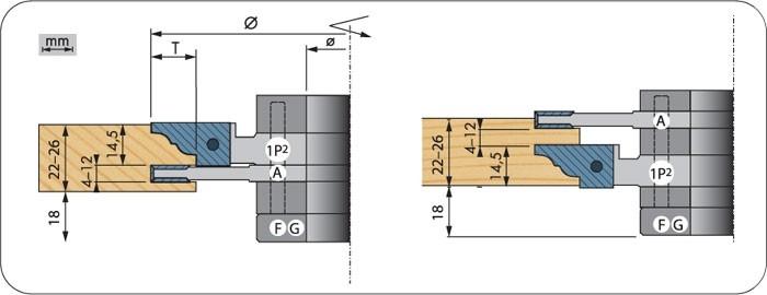 WP-HW-Konterprofil-System, Profi-Ausführung, Profil 2