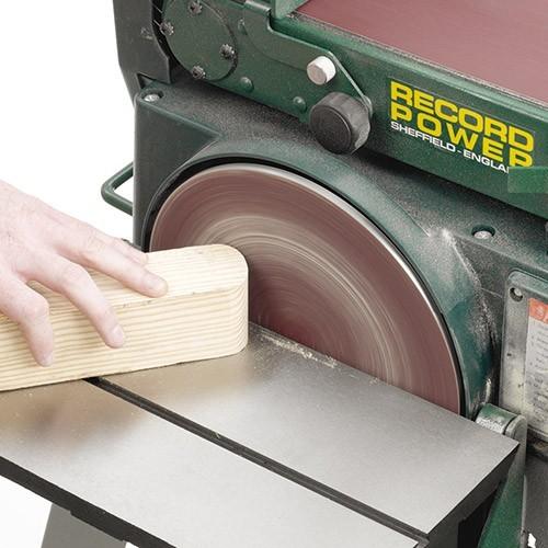 RECORD POWER BDS250 Band- und Tellerschleifmaschine