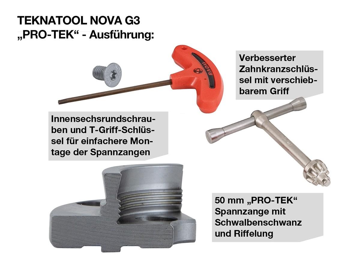 "TEKNATOOL NOVA G3 ""PRO-TEK"" 30-Jahre-Jubiläums-SET"