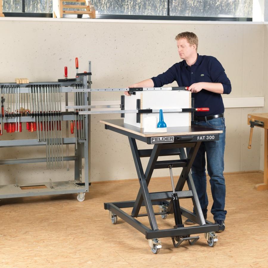 Höhenverstellbarer FELDER® Arbeitstisch FAT 300 ohne Arbeitsplatte