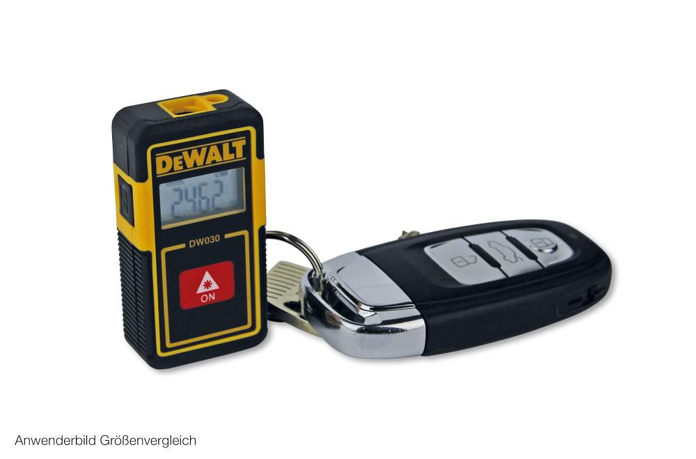 Dewalt taschen entfernungsmesser dw030pl 6 x 3 cm autoschlüsselgröße