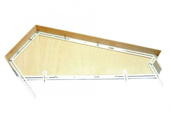 Treppen-Winkelschablone (13-tlg.)