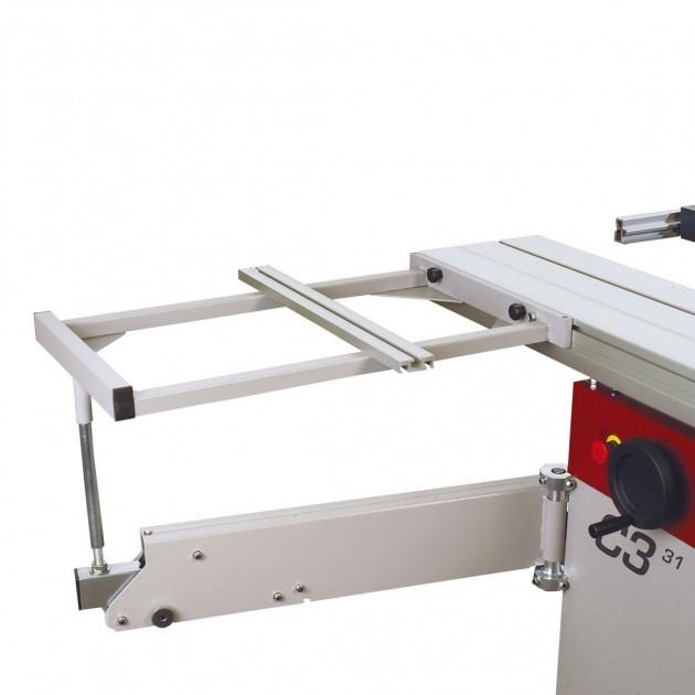 HAMMER Auslegertisch 1.100/1.250, für Formatschiebtischlänge bis 1.250 mm