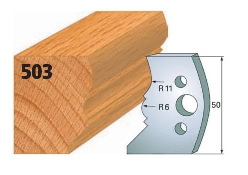 Profilmesser bzw. Abweiser Nr. 503