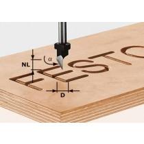 Festool Stufenfräser HW Schaft 12 mm HW D20,3//12,3//6 S12 492714