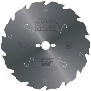 SILENT POWER SILVER Rohzuschnitt-Sägeblatt HW, Industrie-Ausführung
