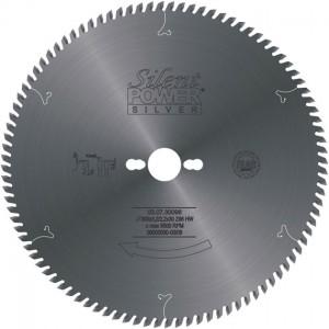 SILENT POWER SILVER Beschichtungs-Formatschnittsägeblatt HW, Industrie-Ausführung