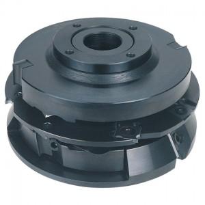 SET-Angebot! WPL-HW-Nut- und Federfrässatz, 5-Teilig, Industrie-Ausführung