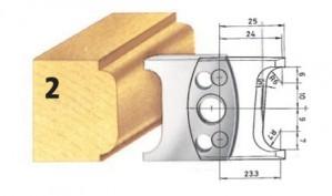 Profilmesser bzw. Abweiser Nr. 2 BG-konform