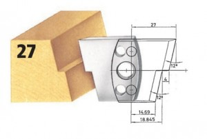 Profilmesser bzw. Abweiser Nr. 27 BG-konform