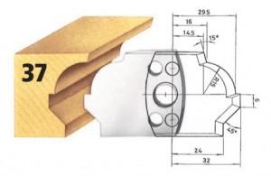 Profilmesser bzw. Abweiser Nr. 37 BG-konform