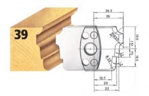 Profilmesser bzw. Abweiser Nr. 39 BG-konform
