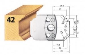 Profilmesser bzw. Abweiser Nr. 42 BG-konform