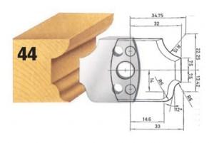 Profilmesser bzw. Abweiser Nr. 44 BG-konform
