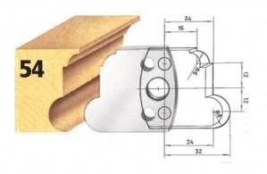 Profilmesser bzw. Abweiser Nr. 54 BG-konform