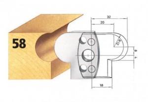 Profilmesser bzw. Abweiser Nr. 58 BG-konform