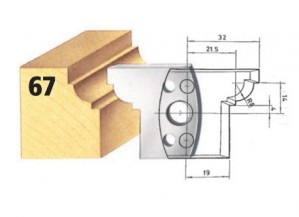 Profilmesser bzw. Abweiser Nr. 67 BG-konform