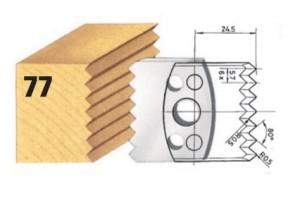 Profilmesser bzw. Abweiser Nr. 77 BG-konform