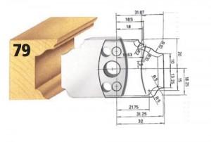 Profilmesser bzw. Abweiser Nr. 79 BG-konform