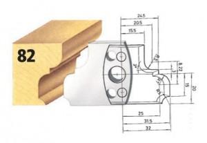 Profilmesser bzw. Abweiser Nr. 82 BG-konform