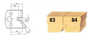 Profilmesser bzw. Abweiser Nr. 83 BG-konform