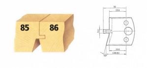 Profilmesser bzw. Abweiser Nr. 86 BG-konform