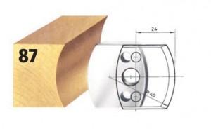 Profilmesser bzw. Abweiser Nr. 87 BG-konform