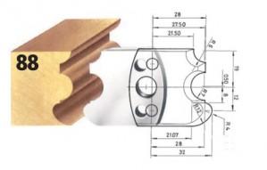 Profilmesser bzw. Abweiser Nr. 88 BG-konform