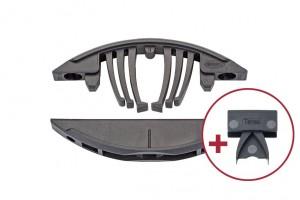 LAMELLO Verbindungsbeschlag Tenso P-14 mit und ohne Vorspann - Clip