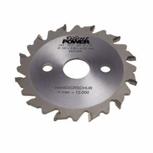 HW Nutfräser, für Handmaschinen, Standard-Ausführung