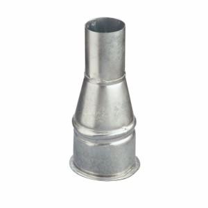 Rohrreduktion einseitig gebördelt, Ø80/50mm, L185mm
