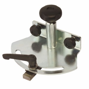 Aufnahmesystem für Ablänganschlag L 1.300 mm auf HAMMER-Formatschiebetisch