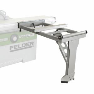 """Zusätzlicher Auslegertisch mit Bodenstützrolle für Formatschiebetisch """"X-Roll"""""""