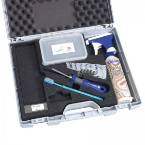 Wartungs- und Reinigungsset für SILENT POWER Spiralmesser-Hobelwelle