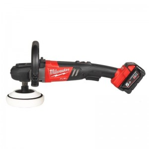 Milwaukee FUEL Akku-Polierer M18 FAP180/5.0 Ah + HD-Box