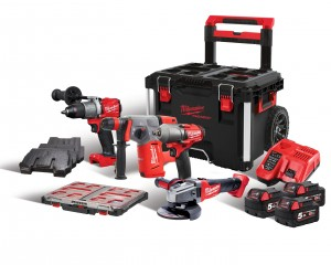 MILWAUKEE M18PP4A4-503X Set