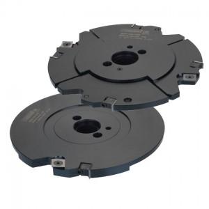Set: Verstellschlitzwerkzeug für Kreissäge + Erweiterungsfräser