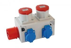 Anlaufautomatik für Zusatzgeräte mit Zeitverzögerung für Absauggeräte 3x400V