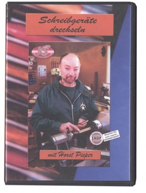 DVD Schreibgeräte Drechseln (ca. 90 min)