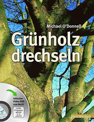 FACHBUCH Grünholz drechseln inkl. DVD