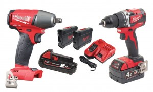 CMILSET8 Milwaukee M18 FIWFCBLPD-422C 300Nm