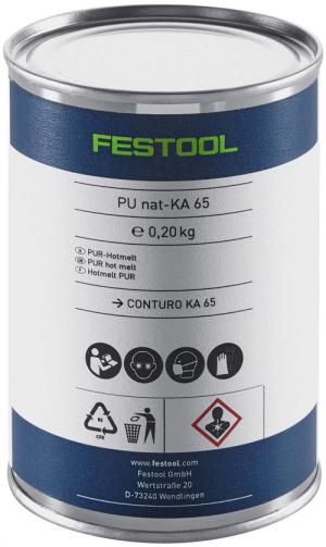 FESTOOL Polyurethan Klebstoff Natur PU nat 4x-KA 65