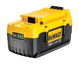 DEWALT 36,0V/4,0Ah Ersatz-Akku (mit Kap.-LED) DCB 360