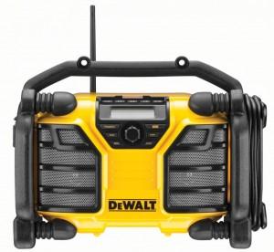 DEWALT XR-Li-Ion Akku- und Netz-Radio DCR 017