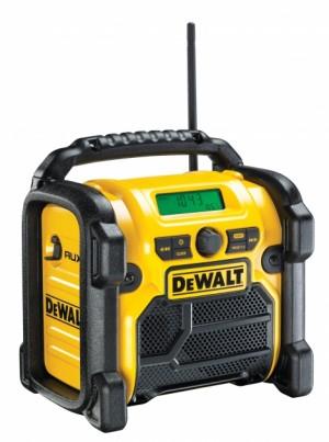 DEWALT XR-Li-Ion Akku- und Netz-Radio DCR 019