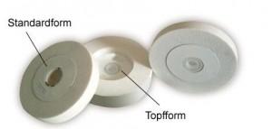 Edelkorundscheiben K60 für Schleifmaschinen - TOPFFORM