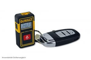 DeWALT Taschen-Entfernungsmesser DW030PL (6 x 3 cm Autoschlüsselgröße)