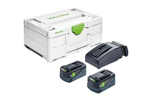 FESTOOL Energie-Set SYS3 ENG 18V 2x5,2/TCL6