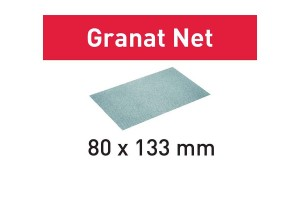 FESTOOL Netzschleifmittel STF 80x133 P220 GR NET/50 Granat Net