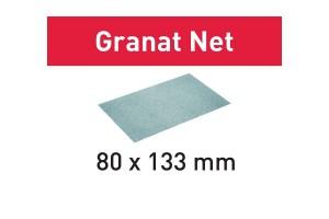 FESTOOL Netzschleifmittel STF 80x133 P80 GR NET/50 Granat Net